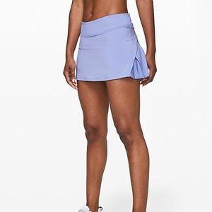 "NWT Lululemon Play Off The Pleats Skirt  13"" size4"